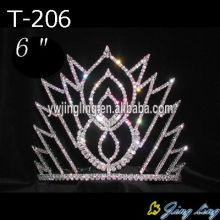 "6""Wholesale Rhinestone Pageant Crowns"