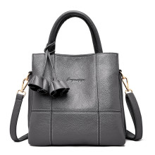 Business soft leather lady tote hand bags