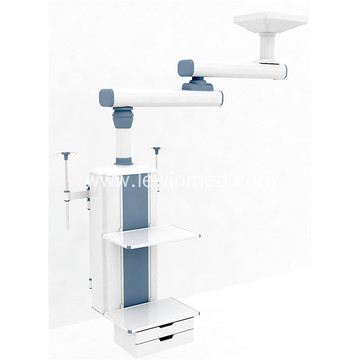 Ceiling dual arm manual surgical pendant