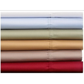 300TC Cotton satin sheet sets for healthcare home