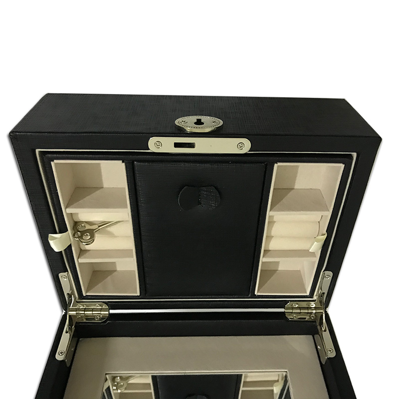 Jewelry Box with Necklace Hanger