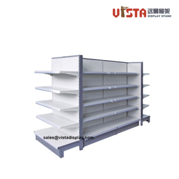 Heavy Duty Stainless Steel 4 Tiers Supermarket Shelf