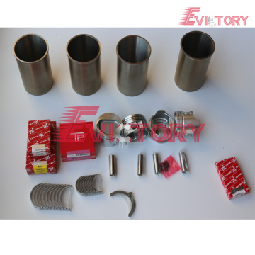 excavator 5K engine gasket bearing piston ring liner