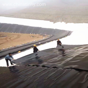 30mils HDPE geomembrane as prawn pond liner