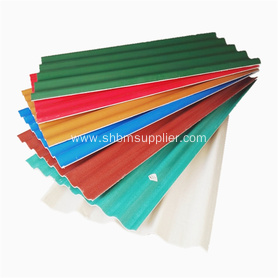 Light Weight Shock Resistant Magnesium Oxide Roofing Tile