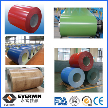 Colour Coated Aluminum Coil PE or PVDF for Decoration