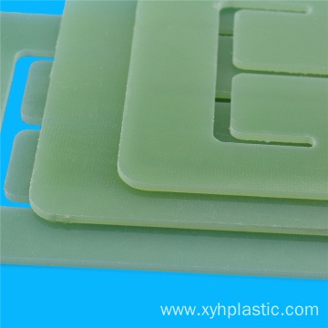 CNC cutting Epoxy resin fiberglass sheet fr-4