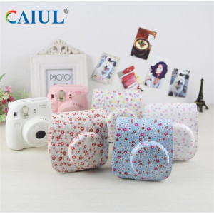 High Quality for for Printing Series Camera Bag Flower Pattern Polaroid Camera Bag supply to Portugal Importers