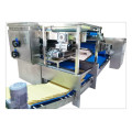 Reciprocating horizontal laminator for biscuit