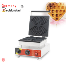 Snack Food Herzform Waffeleisen