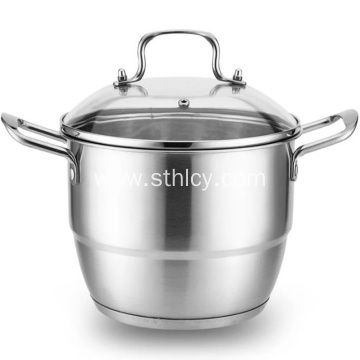 Stainless Steel Universal Thickened Double Layer Steamer Pot