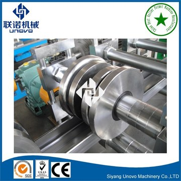 Strut Channel Metal Section Roll Forming Machine