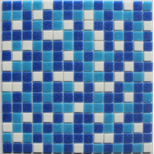 swimming pool material glass mosaic
