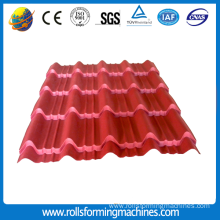 Roofing Colored Glazed Tile Cold Roll Forming Machine