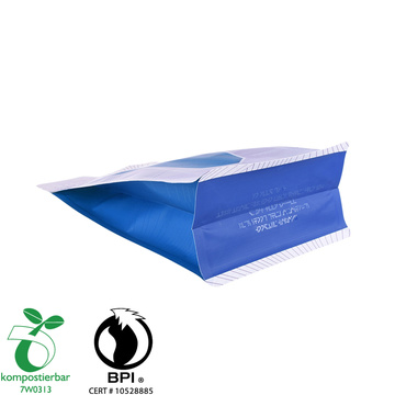 Plastic Zip Lock Block Bottom Eco Bag