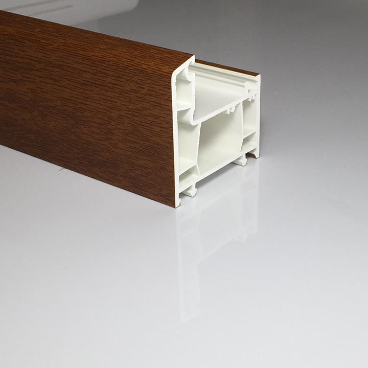 60mm laminated pvc profile11