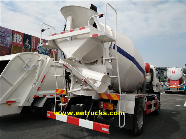 Concrete Mixing Transport Trucks