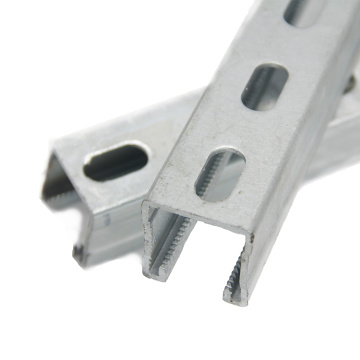 Q235B Steel extruded aluminum unistrut distributors