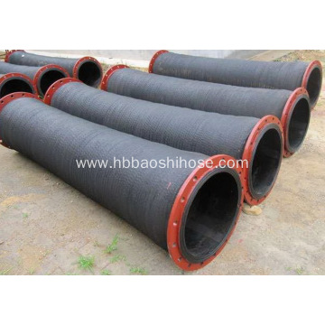 Common Steel Flanged Discharge Hose