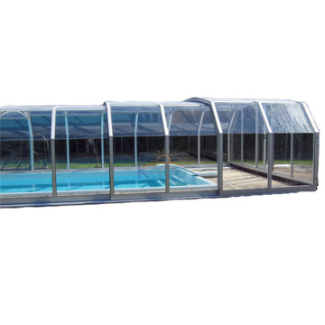 Hot Tub Enclosure Retractable Greenhouse Cover