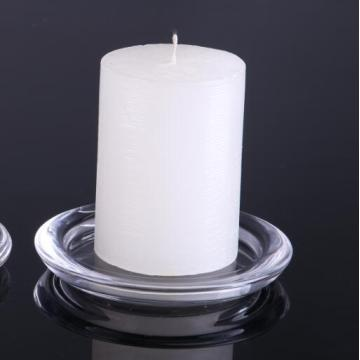 Best Quality for Pillar Holders Hand Made Round Candle Plate supply to Netherlands Manufacturer