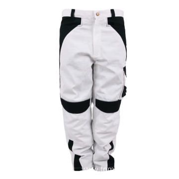 Canvas white black Pants