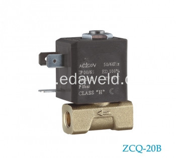 Brass Welding 37V Co2 Gas Solenoid Valve