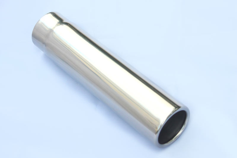 Round Weld On Truck SUV Exhaust Tips