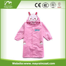 Kids PVC Raincoat Rainsuit for Children