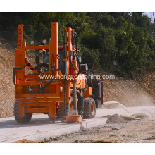 Discountable price for China Pile Driver With Screw Air-Compressor,Guardrail Driver Extracting Machine,Highway Guardrail Maintain Machine Manufacturer Hydraulic Hammer Pile Driver supply to India Exporter