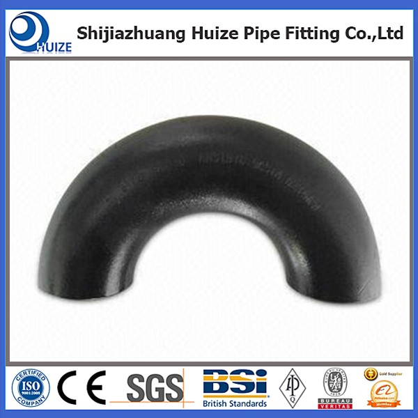 Long radius carbon steel elbow