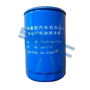Supply for for Truck Chassis Spare Parts VG1246070031 howo spare engine parts oil filter export to Cameroon Importers