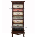 factory Solid Wood Vintage Retro Drawer Storage Cabinet