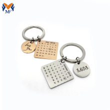 Professional for Customized Keyring Personalised relationship calendar keychain supply to Falkland Islands (Malvinas) Suppliers