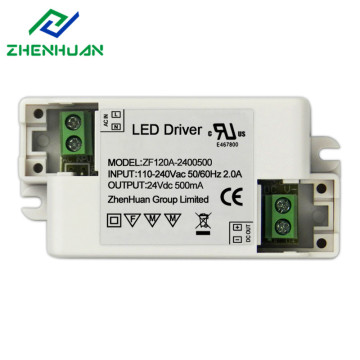 100% Original Factory for China Constant Voltage Led Driver,Led Transformer,Transformer 220V To 12V Manufacturer 24V 500mA 12 Watt AC 110V led driver supply to Ecuador Factories