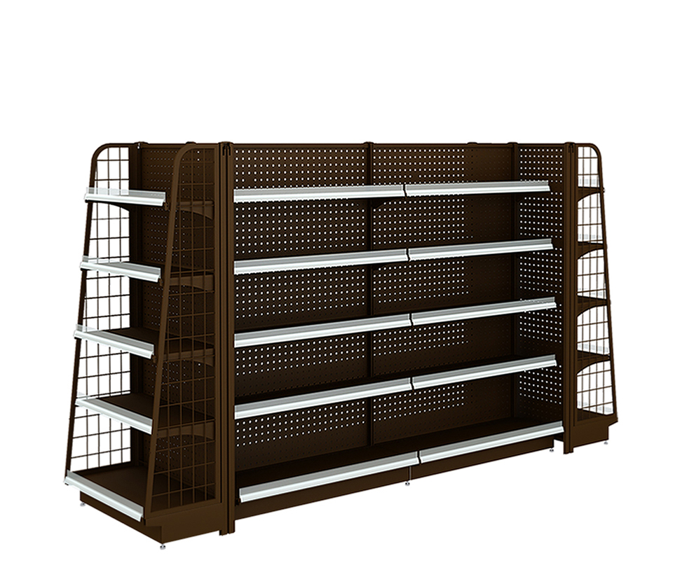 Supermarket Display Shelving Units