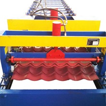 ODM for Steel Single Layer Roof Roll Forming Machine Glazed Tile Roll Forming Machine supply to Poland Suppliers