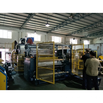 5 layer ACBCA structure 1500mm stretch film extrusion machine