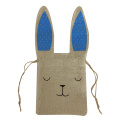 Easter burlap portable candy bag