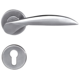 Stainless Steel Solid Casting Lever Door Handle