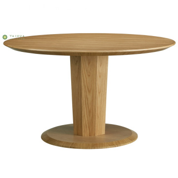 Full Solid Wood Round Shape Dining Table