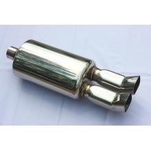 "Best Quality for Car Muffler 7.75"" Oval Muffler With Tips export to Mauritania Wholesale"