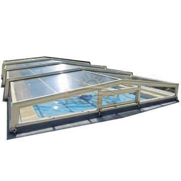 Aluminum Swiming Enclosure Sliding Swimming Pool Cover