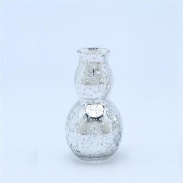 Glitte Effect Glass Vases For Flowers Decoration