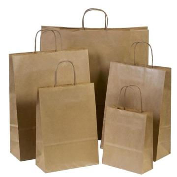 Twisted Kraft Paper Bags