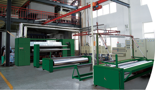 SSS nonwoven machine