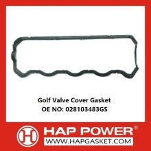 China for China Durable Valve Cover Gasket, Rubber Valve Cover Gasket, Wear Resistant Valve Cover Gasket Supplier Golf valve cover gasket 028103483GS supply to Switzerland Factories