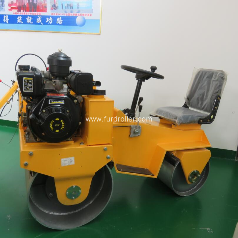 Ride On Mini Asphalt Roller Compactor China Manufacturer