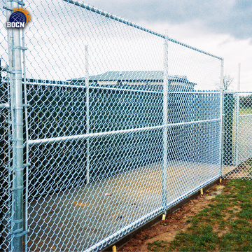 2.5m hight chain link fence
