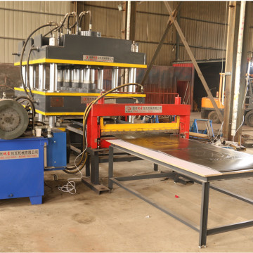 Door skin press machine